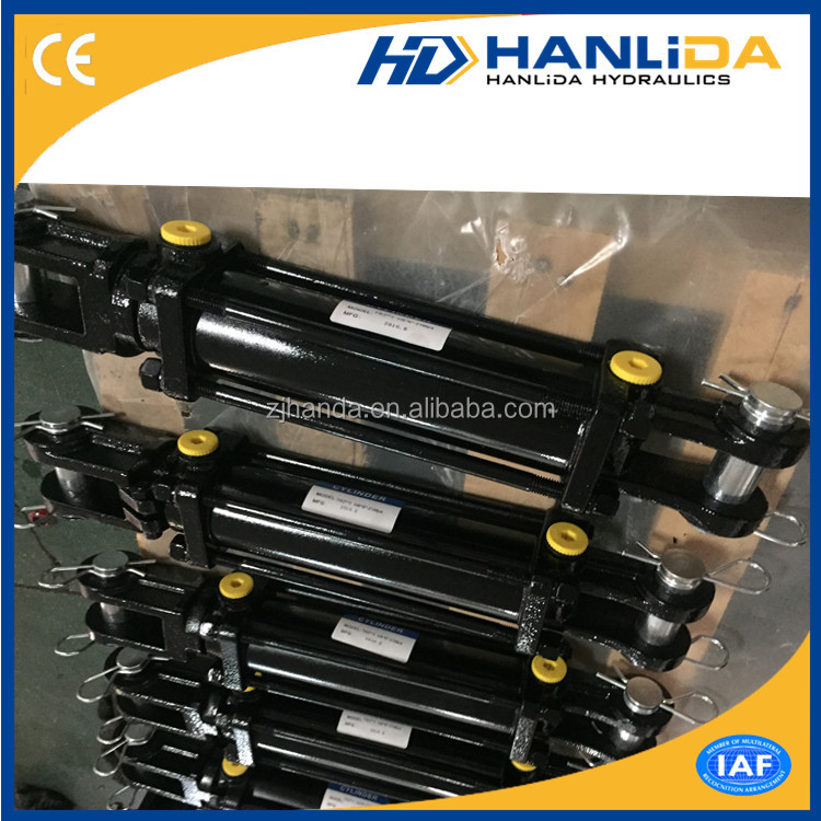 Double acting tie-rod hydraulic <strong>cylinder</strong> TR3008ASAE for agricultural industry