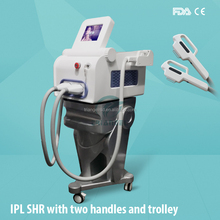 Superficial wrinkles removal and skin texture improvement of shr ipl machine