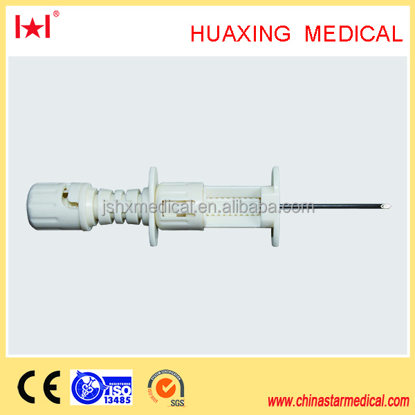suction type bone biopsy needle/disposable surgical instruments