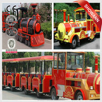 CE Electric Real Trackless Trains for Sale