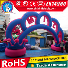 new design inflatable entrance arches for wedding, advertising on sale