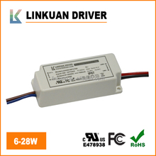 UL CUL TUV CCC Certified constant current waterproof electronic 18V 40V 700mA 28W led driver for LED ceiling lights