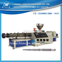 Manufacturer SJSZ51 Double screw polythene extrusion machine for making pipe