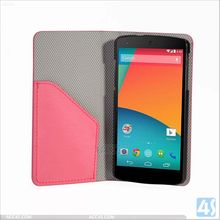 Mobile Phone Leather Wallet Case for Google Nexus 5 P-GGNEXUS5CASE005