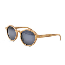 High Quality Classic Blue Polarized Wooden Sunglasses, Sun Glasses Custom Logo