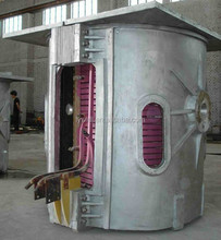 China manufacturer high quality stainless steel small industrial metal melting furnace