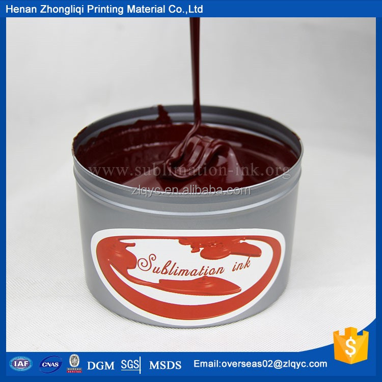 Eco-friendly patented product sublimation offset ink from ZLQ