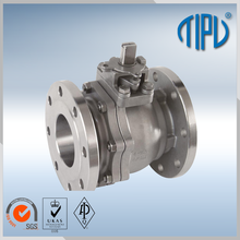 Anti corrosion flanged float ball valve