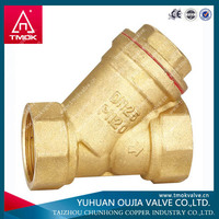 CE approved brass strainer disc filter for natural gas