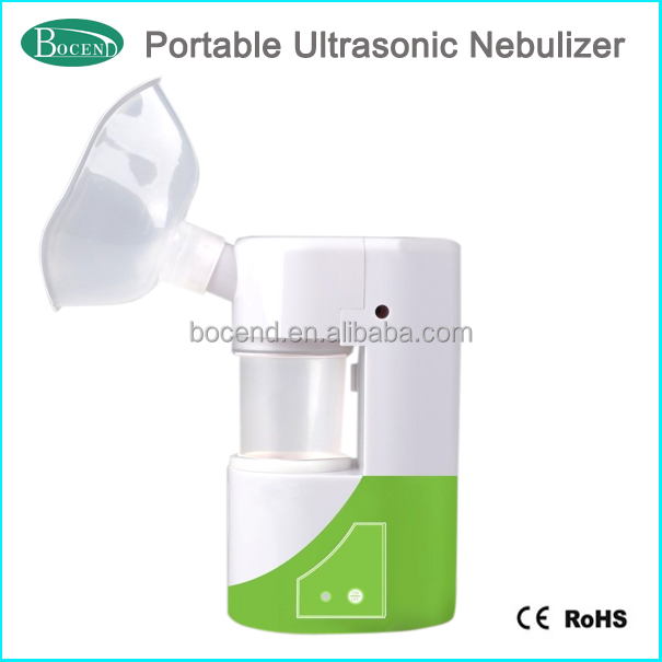 compact portable asthma nebulizer ultrasonic