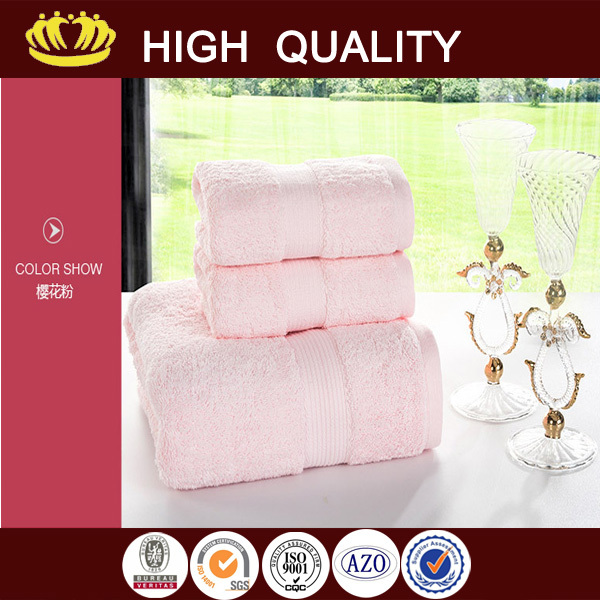 2015 new design economy mint green hand towel with low price