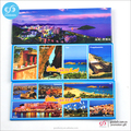 Souvenir items square metal tin fridge magnet sticker
