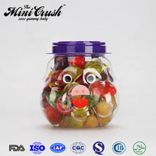 Hot sale Pig Jar Candy Toy 100PCS Assorted Mini Fruit Jelly