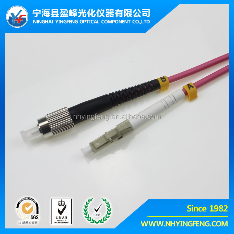 china supplier online shopping Outdoor application OM4 fiber optic armored cable patch cord jumper