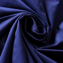 White PU Coated Navy Blue Dyed Micro fiber Twill Polyester Peach Skin Fabric/Cloth