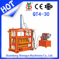 New! QT4-30 concrete block making machine in south africa,low invest brick machine price