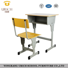 Cheap school desk and chair school furniture kids study table china manufacturer wholesale