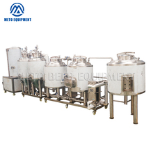 High quality beer brewing system 100l industrial alcohol distillation equipment