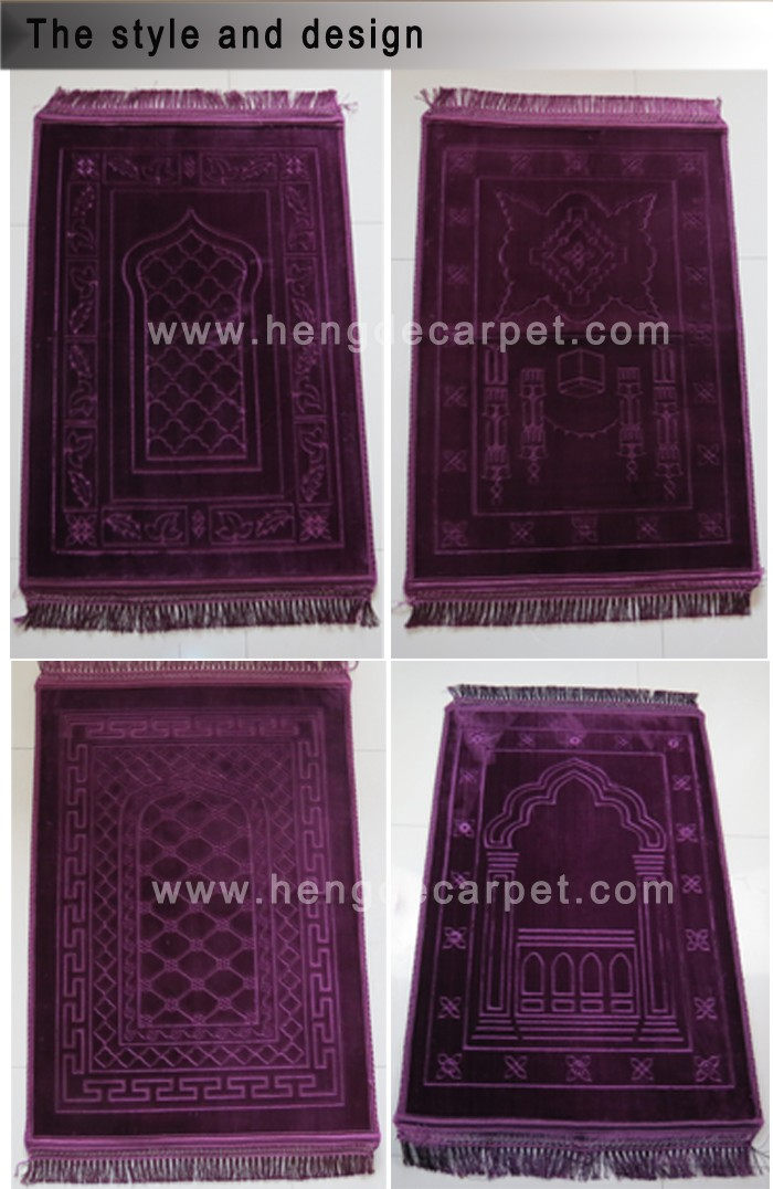 high quality thick padded muslim prayer mat rugs from hengde