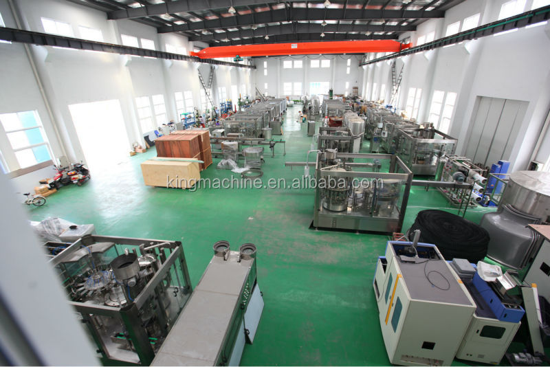 Olive Oil Glass Bottle / Plastic Bottle Filling / Packing Machine