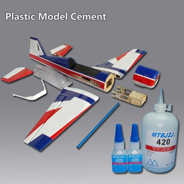Instant Dry Glue for Plastic Model Assembling