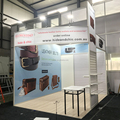 Detian Offer modular aluminum exhibition system 10 by 10 booth stand