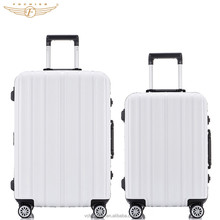 2017 New Design ABS Frame PP Luggage Bag with TSA Lock