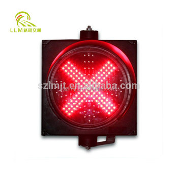 IP65 waterproof 12V driveway lighting solar red green LED traffic warning light