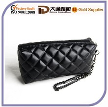 2016 New Design Black Wholdsale Leather Clutch Bag
