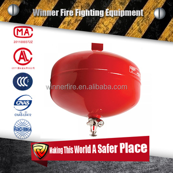 ball type fire extinguisher dry powder