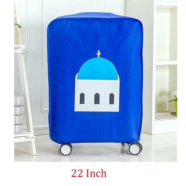 20 ~ 28 Travel Suitcase Cover Waterproof Dustproof Luggage Trolley Case Protective Cover Cartoon Printed Lovely Suitcase Covers