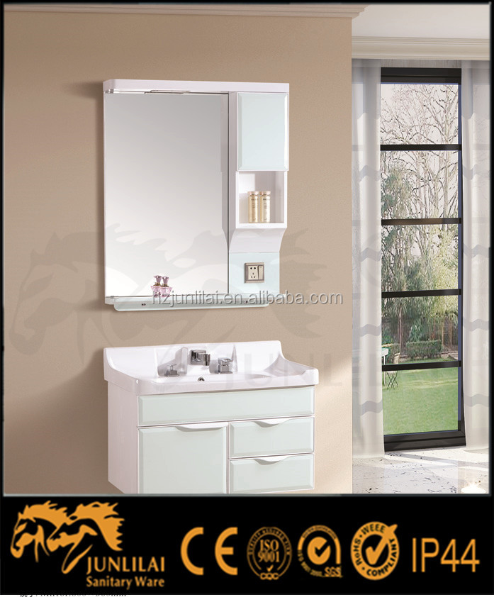 Solid Wood Carcase Material bathroom cabinet
