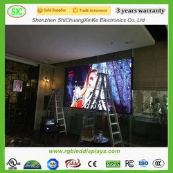HD full color pakistan advertising led screen
