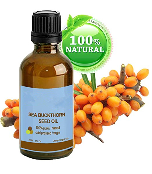 Skin Care Effectively reduces wrinkles, dryness and skin lines 100% Pure Seabuckthorn Seed Oil