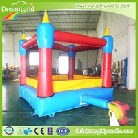 China new design girls pink inflatable princess bouncy castle jump & slide combos for party use
