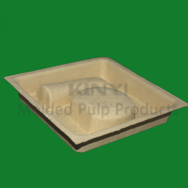 Custom Biodegradable Jewelry molded paper pulp packaging box