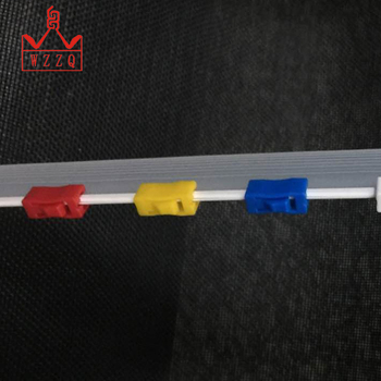 2018 factory supply setting zip sliders new plastic products