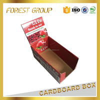 Creative design paper cartons corrugated display box