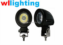 WLLIGHTING Factory 10W Cree Led Light for ATV SUV UTV Offroad Truck Bus Train Motorcycle