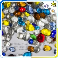 Zibo Tingrio color combination decoration glass beads