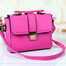 China Fashion Lady Single Strap Shoulder Tote Leather Bag