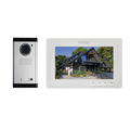 7inch color screen video door phone doorbell intercom
