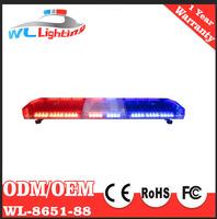 Red Blue Warning Lightbar LED Police Light Bar Emergency Strobe Warning Light