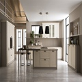 Low-carbon panel armario de cozinha modular kitchen design