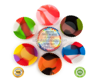 Wholesale Reusable Swirl Silicone Jumbo Baking Cups,Muffin Cases Cupcake Mold