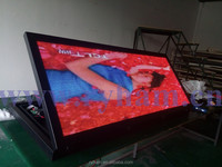 2014 www.com 3G wireless GPS led video display for bus in alibaba China