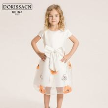 children clothes free shipping evening casual party dress pearl prong snap fastener 8th month baby winter dresses
