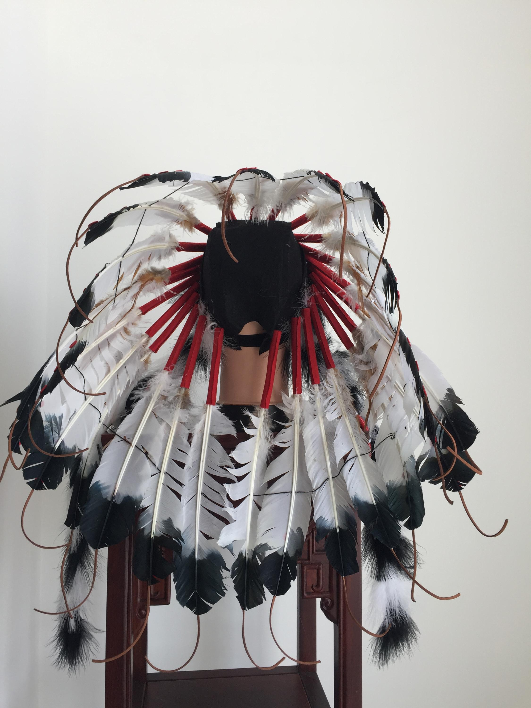 Native indian feather headdress for sale