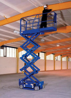 portable used scissor lift motorcycle