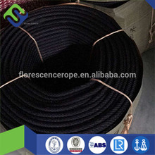 8mm PP black danline ropes with high strength